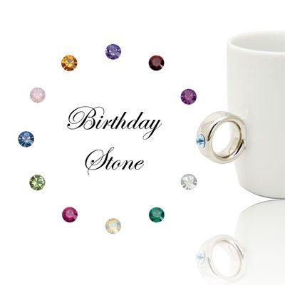 Floyd-CUP RING Birthday Stone -