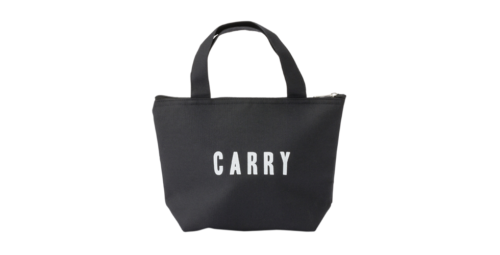 Labeled Carry Cooler Bag S